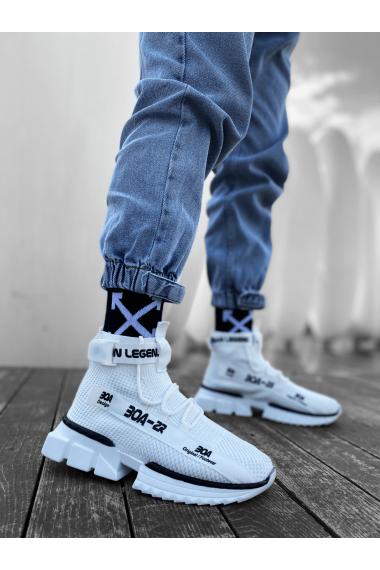 Erkek Zr-x700 Tarz Beyaz Renk Spor Ayakkabı