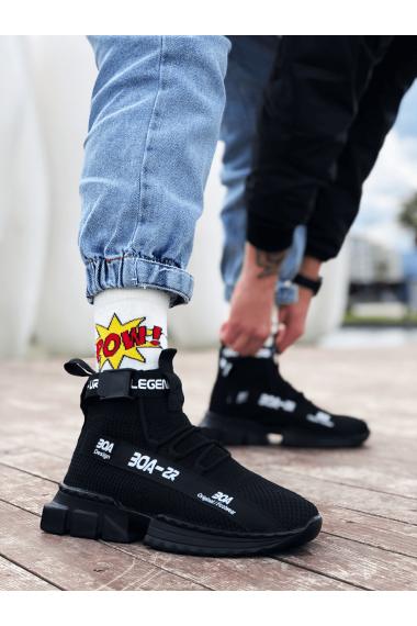 Erkek Zr-x700 Tarz Siyah Taban Spor Ayakkabı